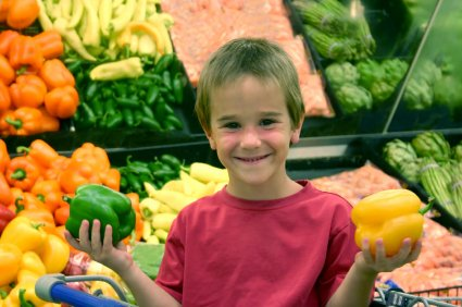 a grocery store can be a great learning opportunity