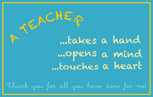 Teacher Appreciate Day